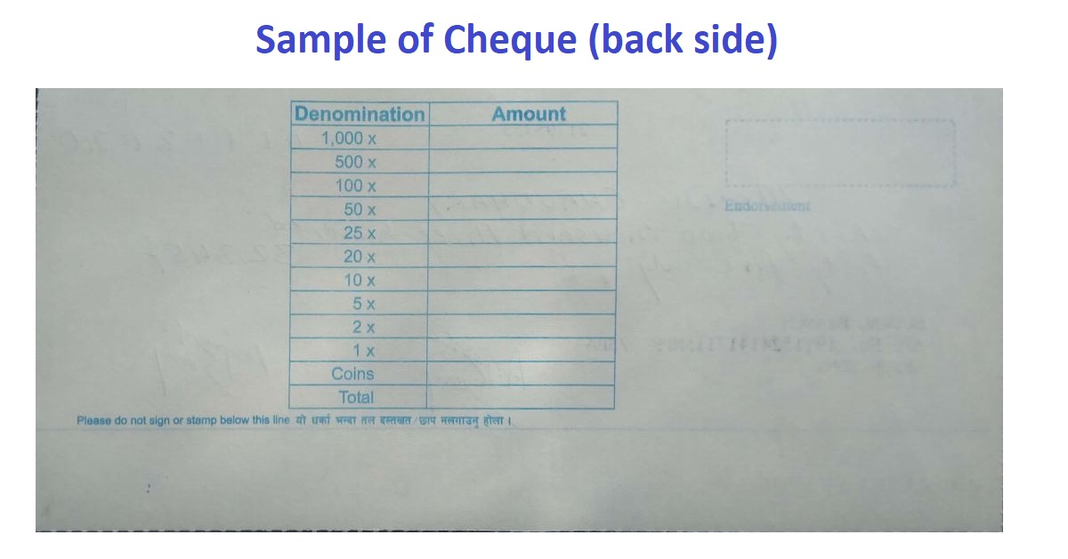 What is a cheque